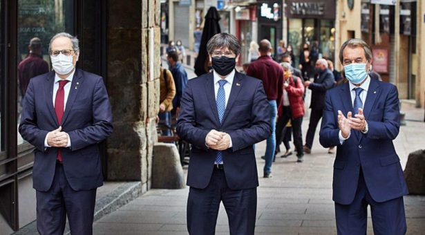 Els catalans no tenim president però sí expresidents amb escreix